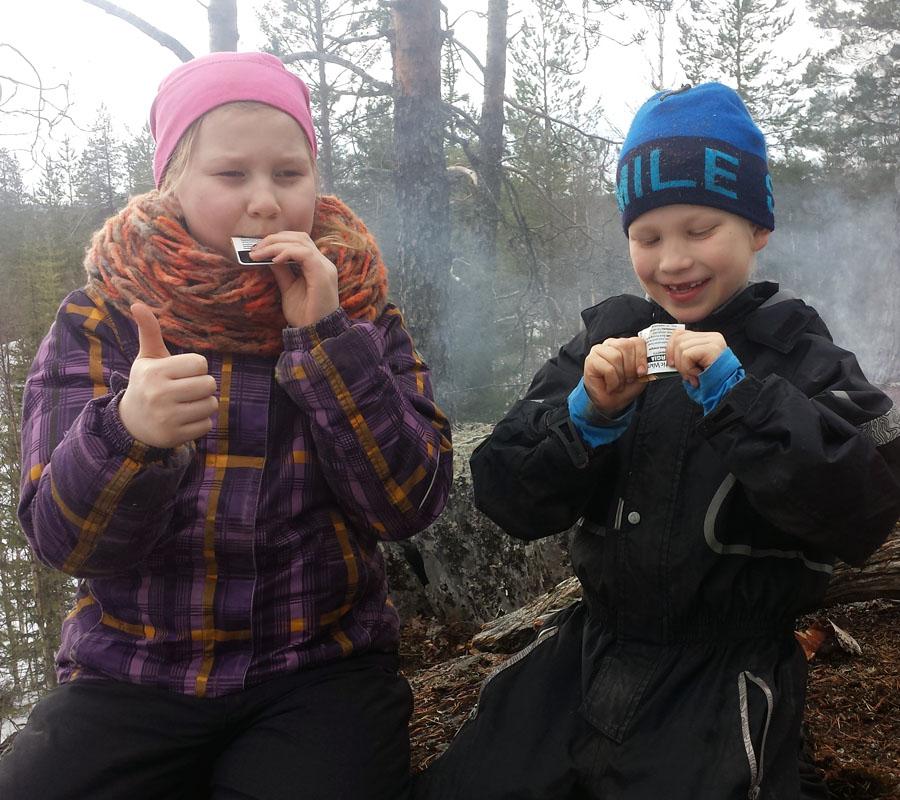 Myös lapset pitävät Energiasta!