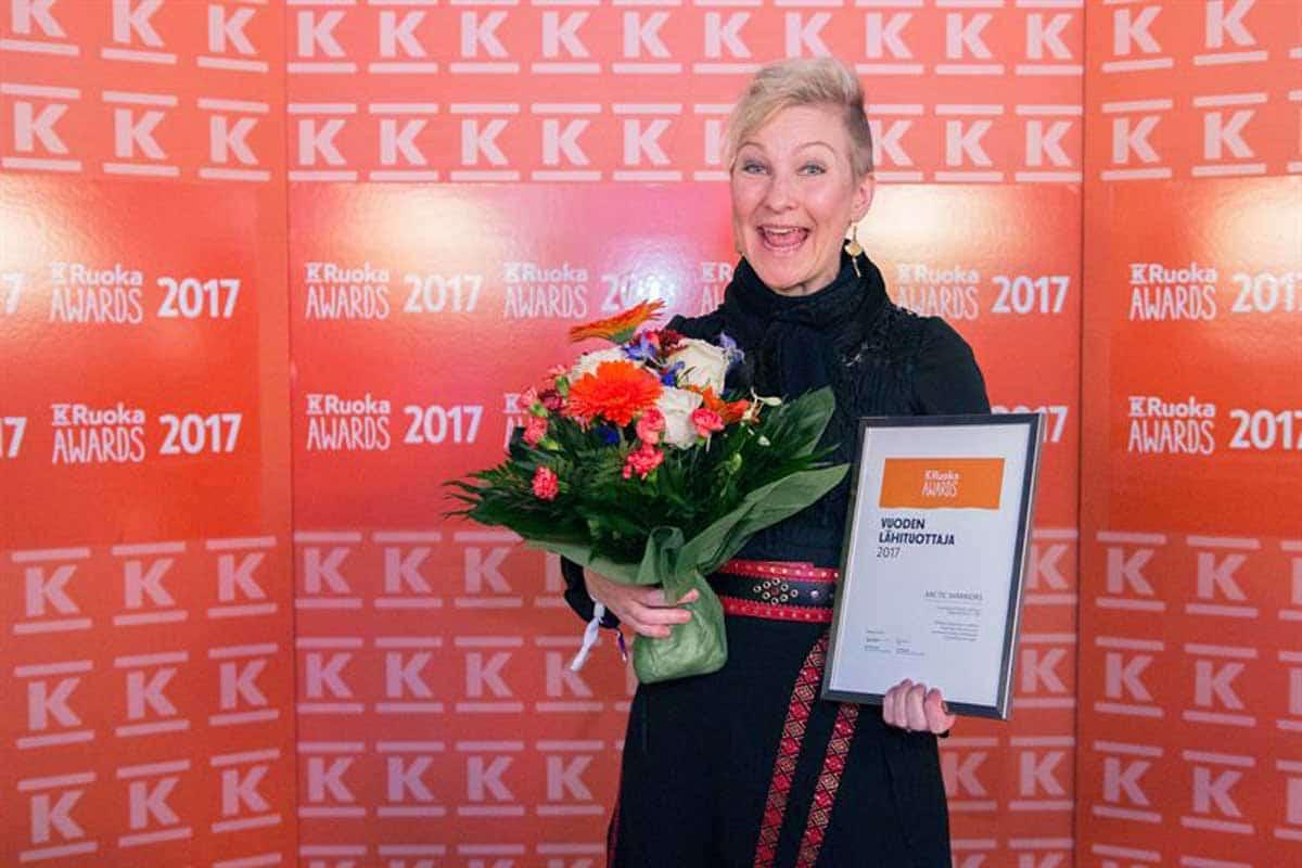 K-ruoka Awards vuoden lähituottaja 2017