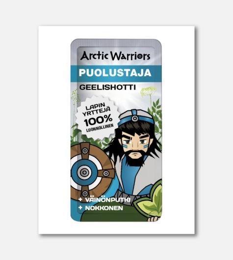 Arctic Warriors Puolustaja Geelishotti