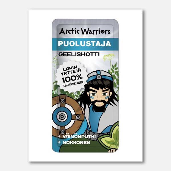 Arctic Warriors Puolustaja Geelishotti