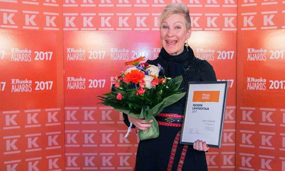 K-Ruoka Awards 2017 voittaja