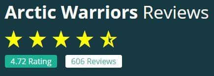Arctic Warriors -tuotteiden arvostelut